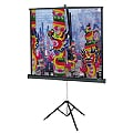 Da-Lite Versatol projection screen with tripod - 99 inch - ( 251 cm )