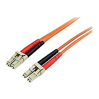 StarTech.com 1m Fiber Optic Cable - Multimode Duplex 62.5/125 - LSZH - LC/L
