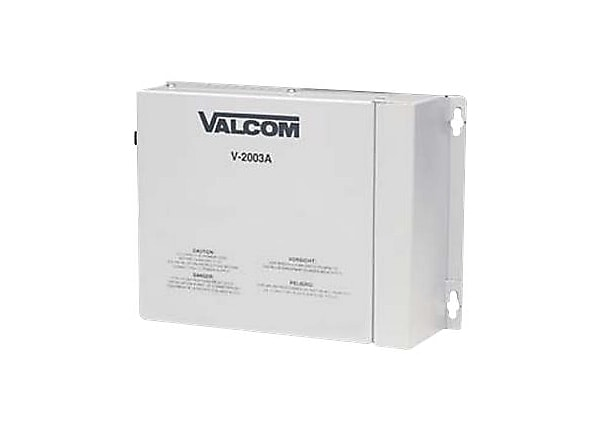 Valcom 3 Zone Enhanced Page with Built-In PowerControl