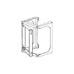 "Chatsworth 19"" Standard Swing Gate Wall Rack"