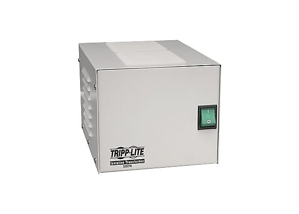 Tripp Lite 500W Isolation Transformer Hospital Medical with Surge 120V 4 Ou