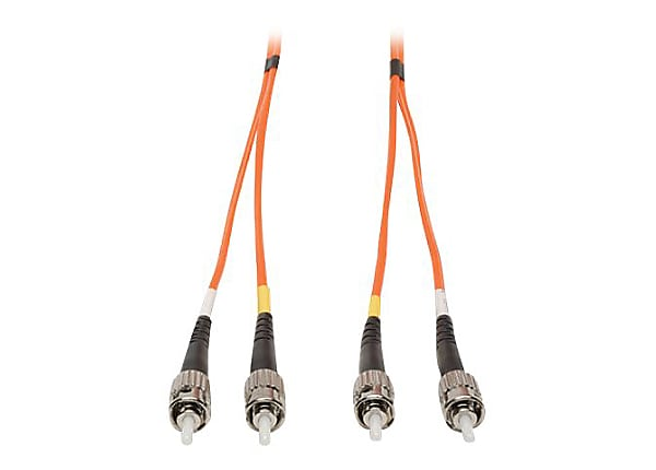 Tripp Lite 5M Duplex Multimode Fiber 62.5/125 Patch Cable ST/ST 16ft