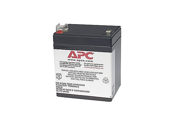 APC RBC45 Brand Replacement Battery Cartridge. FREE Battery Disposal Incl.