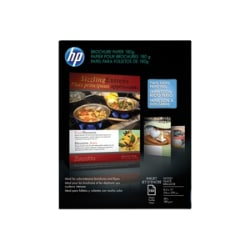 HP Brochure and Flyer Glossy Paper
