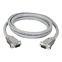 Black Box 50ft RS232 DB9 F/F Straight Through Shielded Serial Cable, 50'