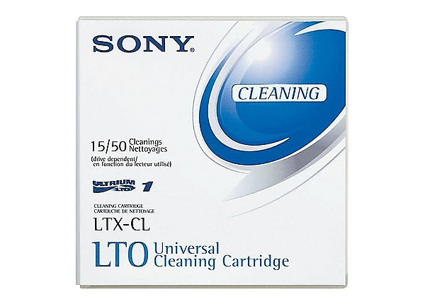 Sony 1 Pack LTO Ultrium Cleaning Cartridge