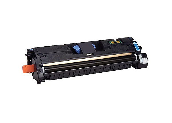 Clover Remanufactured Toner for HP C9701A (122A), Cyan, 4,000 page yield
