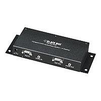 Black Box Compact CAT5 Audio/Video Splitter video/audio splitter - 8 ports