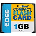 EDGE Digital Media ProShot - flash memory card - 1 GB - CompactFlash