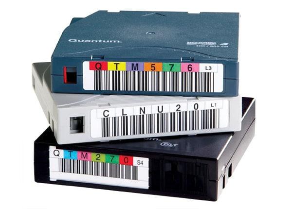 Quantum LTO-3 Barcode Labels 000101-000200 - bar code labels
