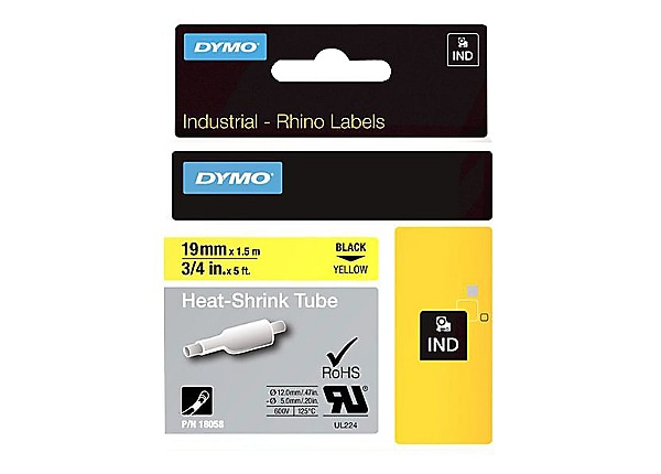 "DYMO RhinoPRO 3/4"" Heat Shrink Tube"