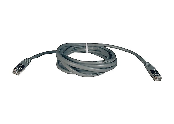 Tripp Lite 25ft Cat5e Cat5 350MHz Molded Shielded Patch Cable RJ45 Gray 25'
