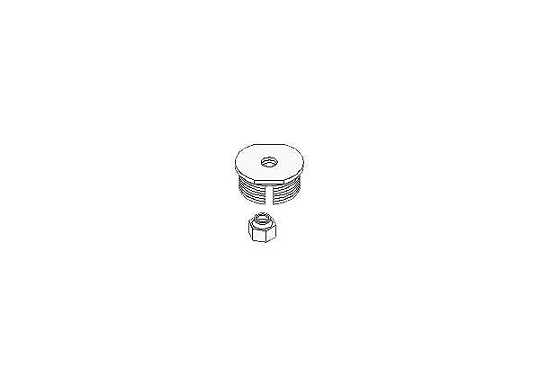 Peerless Threaded Rod Adapter ACC 810 - projector mount adapter