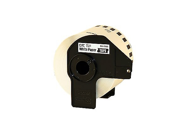 "Brother 2-3/7"" Continuous Length Paper Tape"