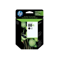 HP 88XL Black High Yield Ink Cartridge