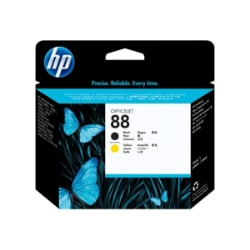 HP 88 Black, Yellow Printhead
