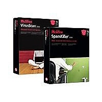 McAfee VirusScan 2006 (v. 10) - box pack - 1 user - with McAfee SpamKiller