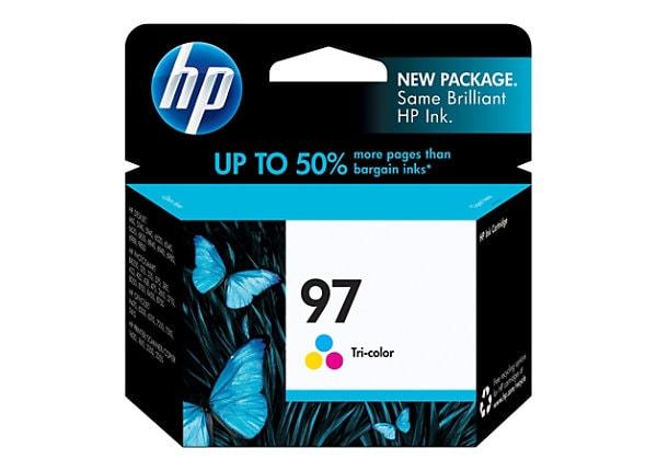HP 97 Tri-color Ink Cartridge