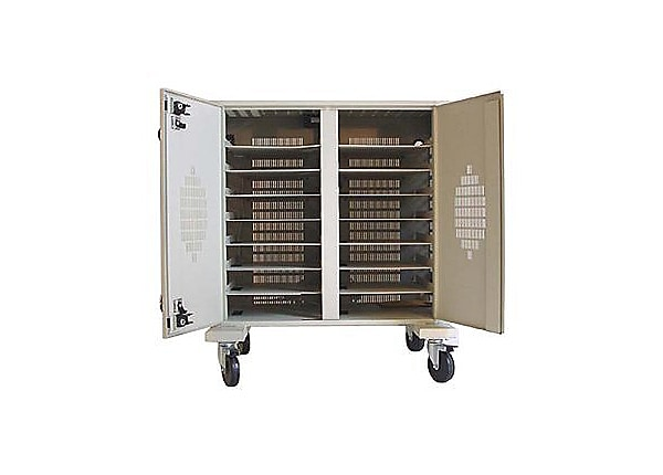 Datamation Systems 16 Module Notebook PC Security Cart