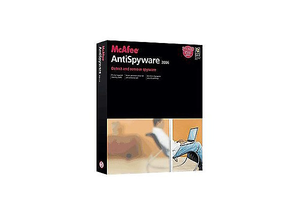 McAfee AntiSpyware 2006 (v. 2.0) - box pack - 1 user