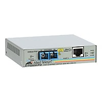 Allied Telesis AT FS202 10/100BASE-TX to 100BASE-FX Media Converter