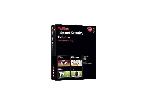 McAfee Internet Security Suite 2006 (v. 8.0) - box pack - 3 users