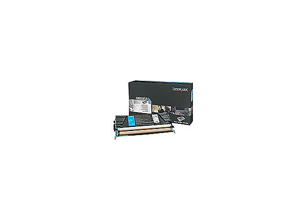 Lexmark - cyan - original - toner cartridge