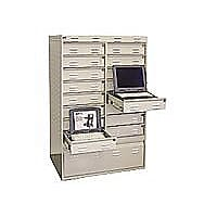 PSSI Dock & Lock 3252-L-20 - notebook security cabinet