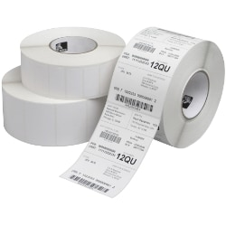 Zebra Z-Perform 2000T - perforated coated permanent rubber adhesive paper -