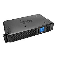 Tripp Lite UPS Smart LCD 1500VA 900W AVR 2U Rack Tower 120V 8 Outlets LCD