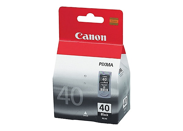 Canon PG-40 - pigmented black - original - ink cartridge