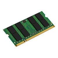 Kingston memory - 256 MB - SO DIMM 144-pin - DDR2