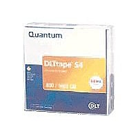 Quantum DLT S4 Tape Media Cartridge - 800GB/1.6TB Single Pack