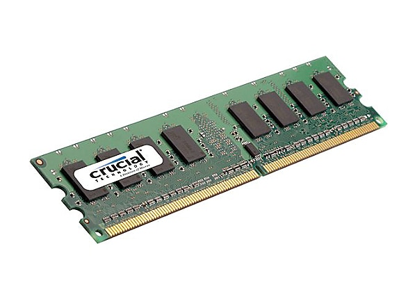 Crucial - DDR2 - 1 GB - DIMM 240-pin - unbuffered