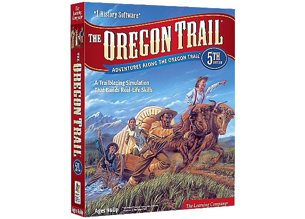 The Oregon Trail 5th Edition - complete package