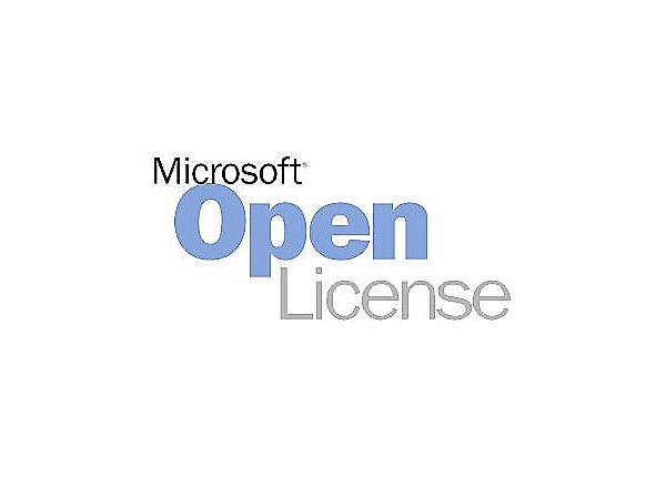 Microsoft SQL Server Standard Edition - license & software assurance - 1 se