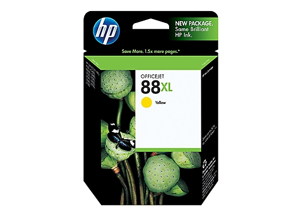 HP 88XL - High Yield - dye-based yellow - original - Officejet - ink cartri