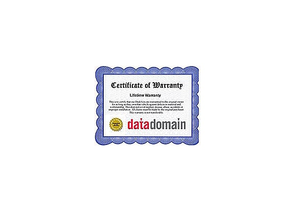 DATA DOMAIN ENHANCED SYSTEM SUPPORT