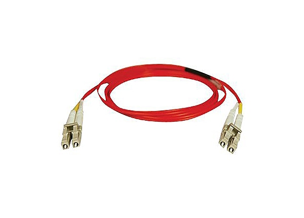 Tripp Lite 10M Duplex Multimode 62.5/125 Fiber Patch Cable LC/LC Red 33ft