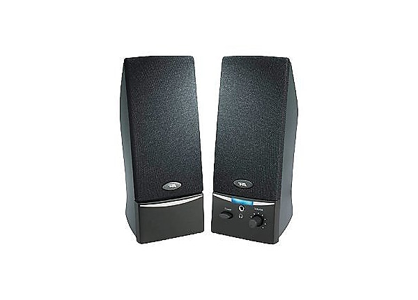 Cyber Acoustics CA-2012RB 2.0-Channel Speaker System