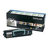 Lexmark Return Program X340H11G Hi-Yield Black Toner Cartridge