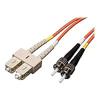 Tripp Lite 8M Duplex Multimode Fiber 62.5/125 Patch Cable SC/ST 25ft