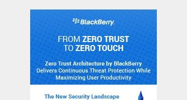 PDF OPENS IN A NEW WINDOW: View From Zero Trust to Zero Touch infographic