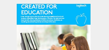 PDF OPENS IN A NEW WINDOW: read Logitech Created for Education Brief