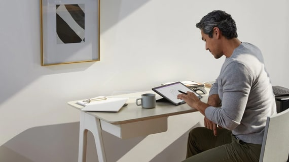 Learn more about Surface remote work solutions